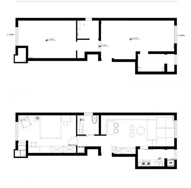 60平米现代风格住宅 单身女青年生活也能精致丰富