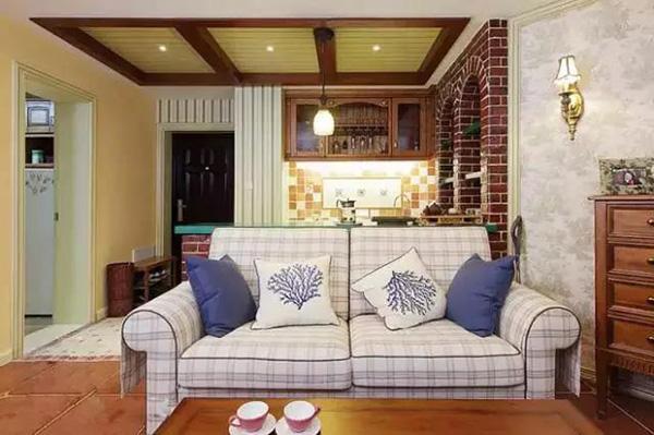 沙发不一定要靠墙 介绍几种新颖的沙发摆放技巧