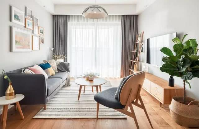 北欧风格三房装修案例 处处体现收纳设计的用心