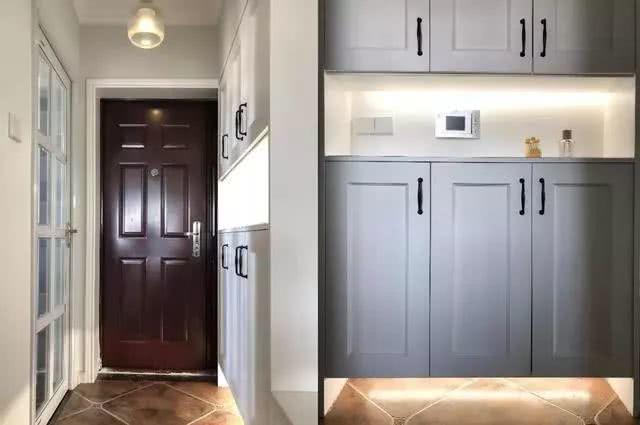 90平清新美式风格小三房 装饰非常有灵气和生机