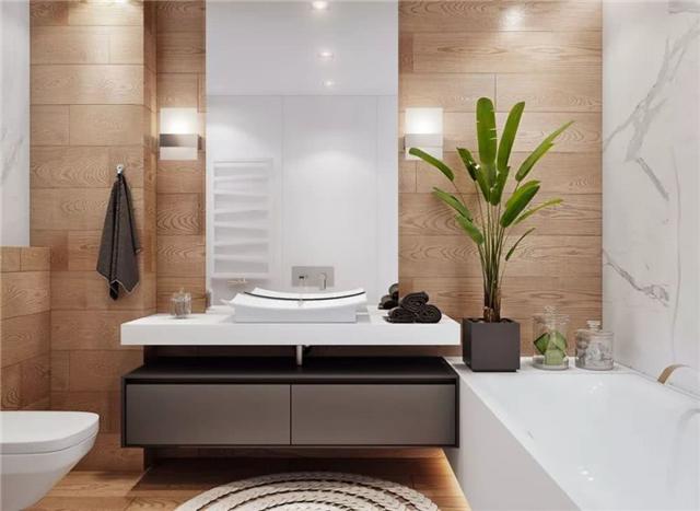 想要家里颜值高 首先得装一个漂亮的洗漱台