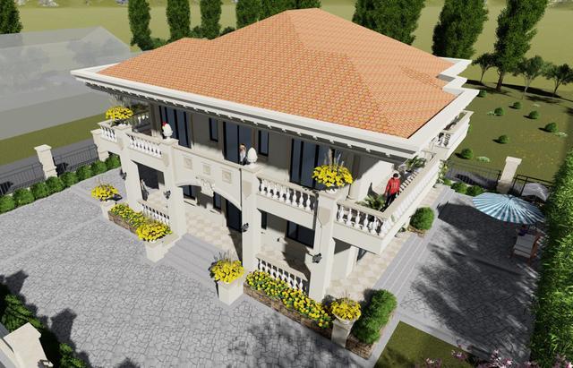欧式别墅装修设计 村里人看了都想跟着建