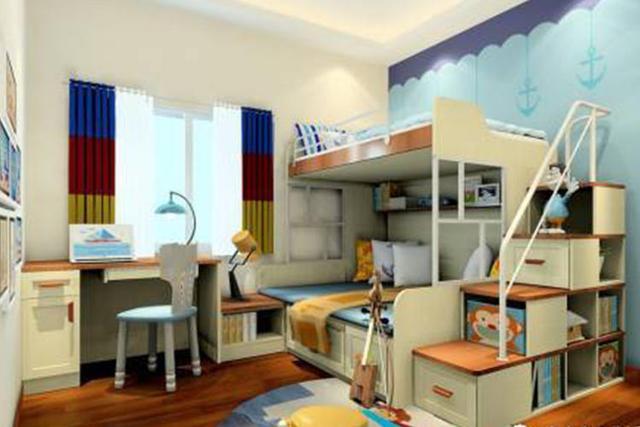 解救二宝家庭装修 7㎡儿童房设计攻略
