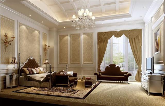 卧室整装效果图