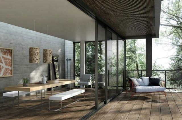 创意木纹砖贴法选择 给每一个空间带来不一样的美
