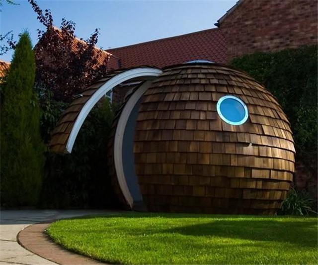 18个未来主义后院的设计 大胆的设计创意十足!