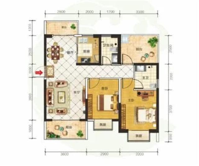 买房要选什么样的户型 ?#27809;?#22411;和差户型对比分析
