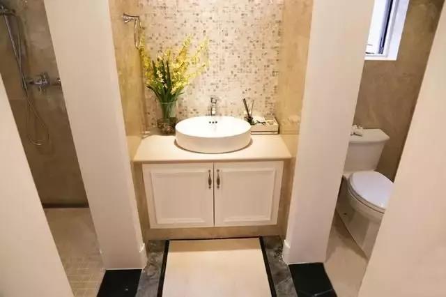 干湿分离的效果OUT了没?三式分离卫生间更实用!