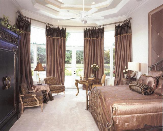 最好看的窗帘配最好的卧室 让它成为空间的象征
