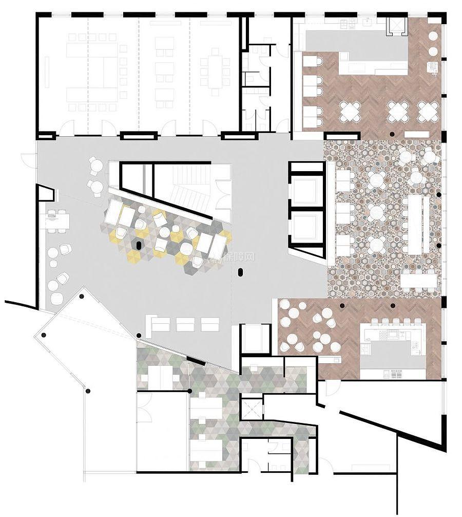 Radisson酒店之平面图