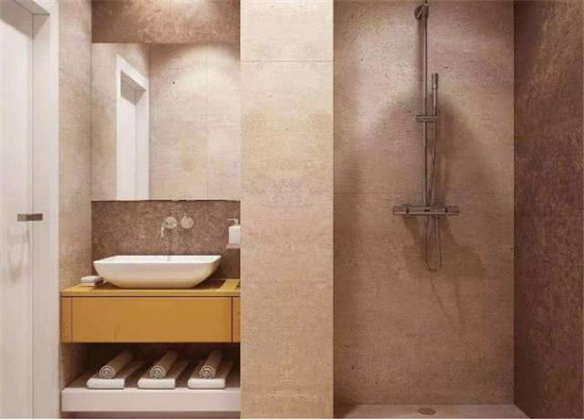 卫生间收纳不用装置物架 墙上开槽做壁龛好看又实用
