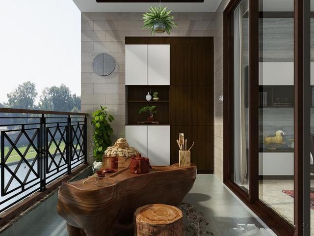 客厅连阳台如何装修?客厅阳台一体效果图案例