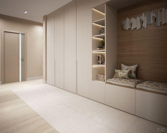 12个门厅设计方案 看看别人家精美的门厅