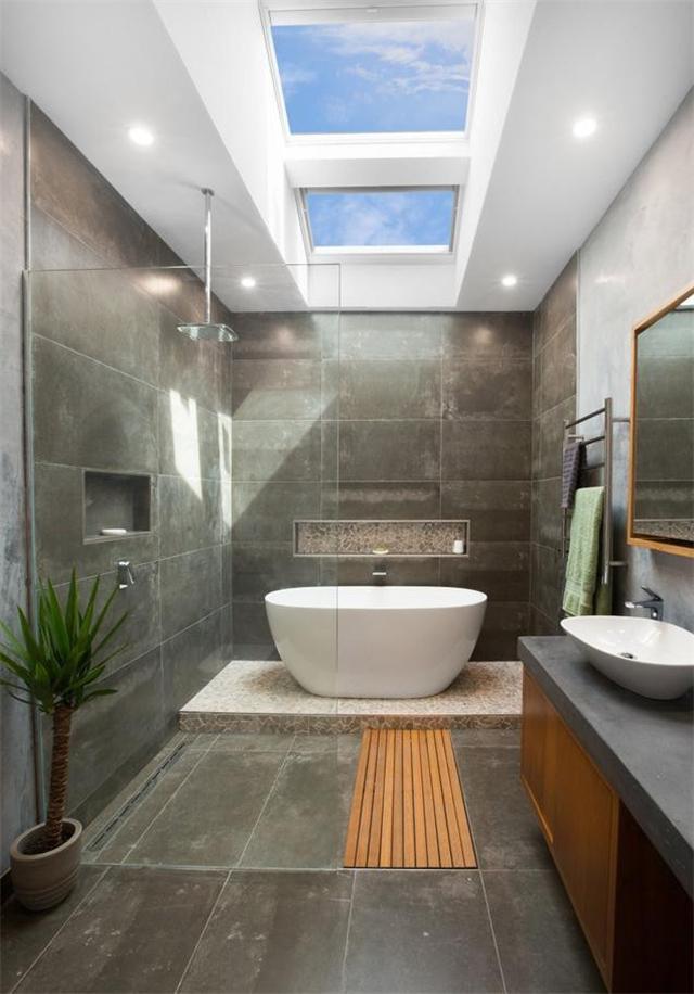 最好的小浴室设计 既能提升尺寸又能时尚迷人