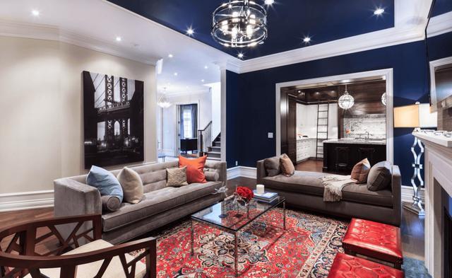 用迷人的方式改变你客厅的颜色 试试吧?