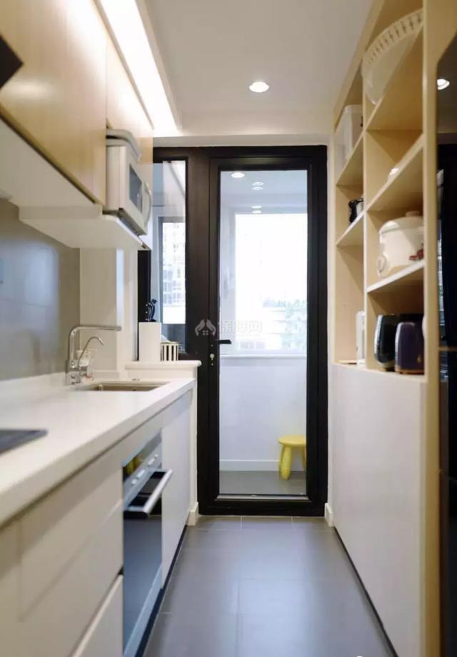 八十平米小户型厨房设计效果图