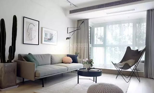 八十平米小户型沙发背景墙装修效果图