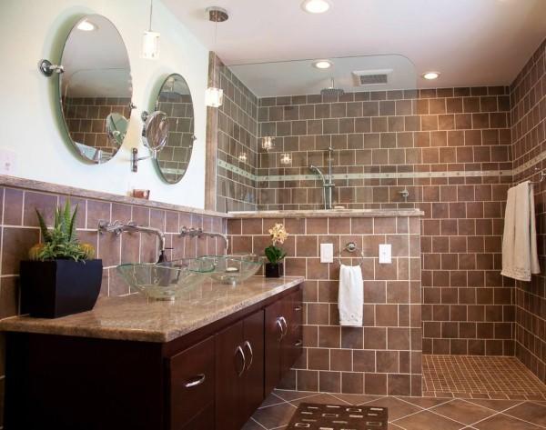 10款卫生间半墙隔断效果图 比玻璃隔断更实用美观