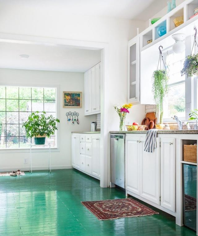實木地板噴漆效果圖 裝修空間的一個不錯選擇