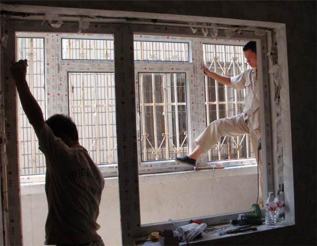 塑鋼門窗安裝步驟解析