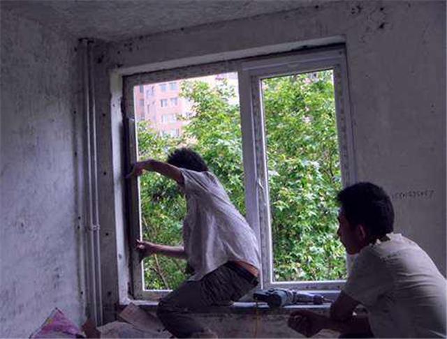 塑鋼門窗安裝驗收