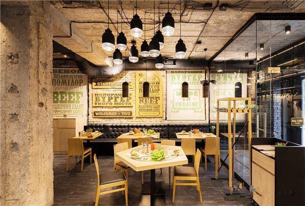 简单好看的餐馆装修效果图 小饭店就应该这样装修