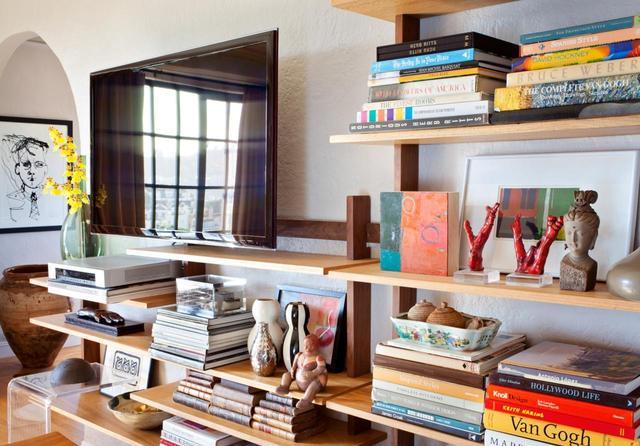 別致的書架設計 平凡的書房也可以這么有藝術性