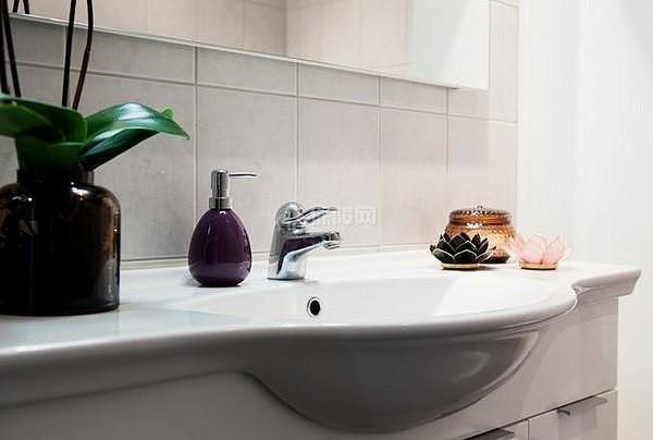 40平米小户型洗脸盆设计效果图