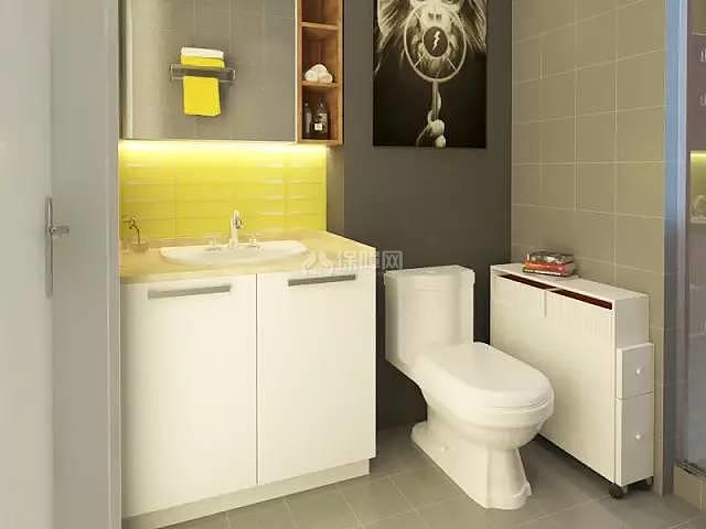 70平方2室一厅卫生间装修效果图