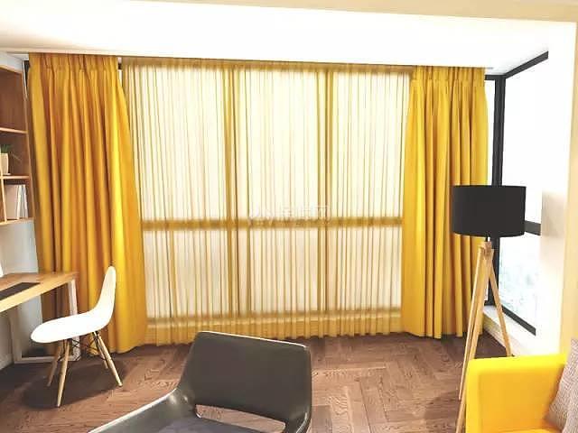 70平方2室一厅书房装修效果图