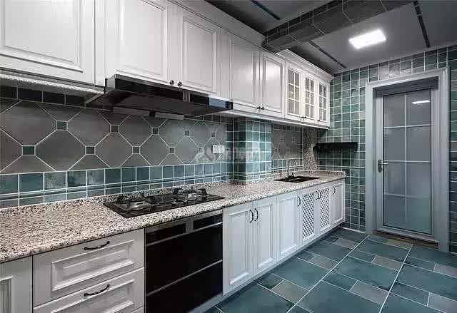 140㎡美式厨房装修效果图