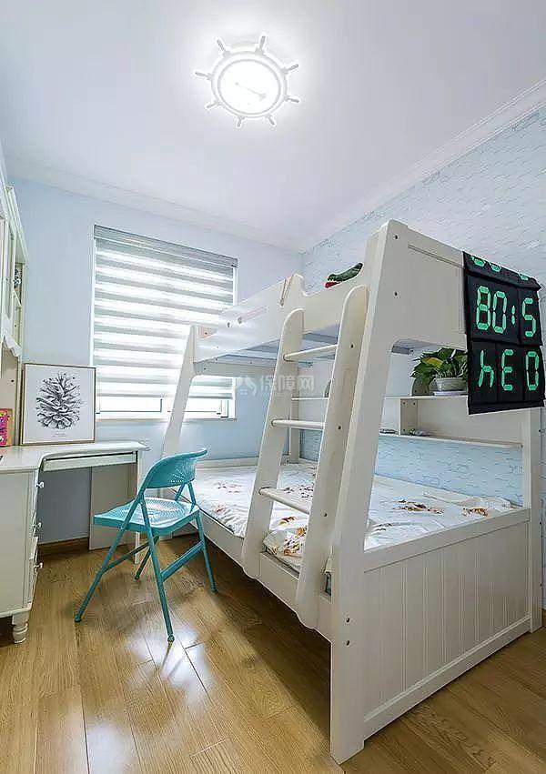 56㎡两居儿童房装修效果图