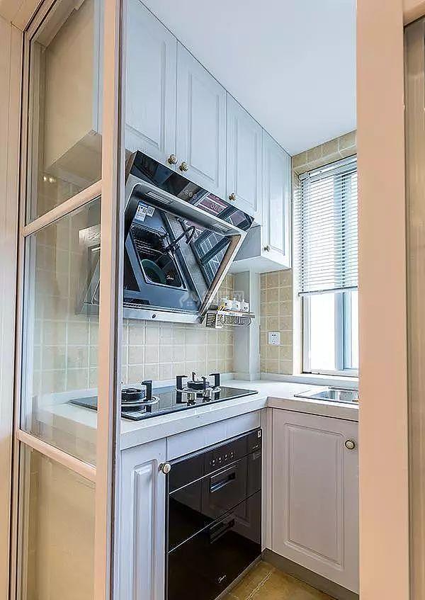 56㎡两居厨房装修效果图