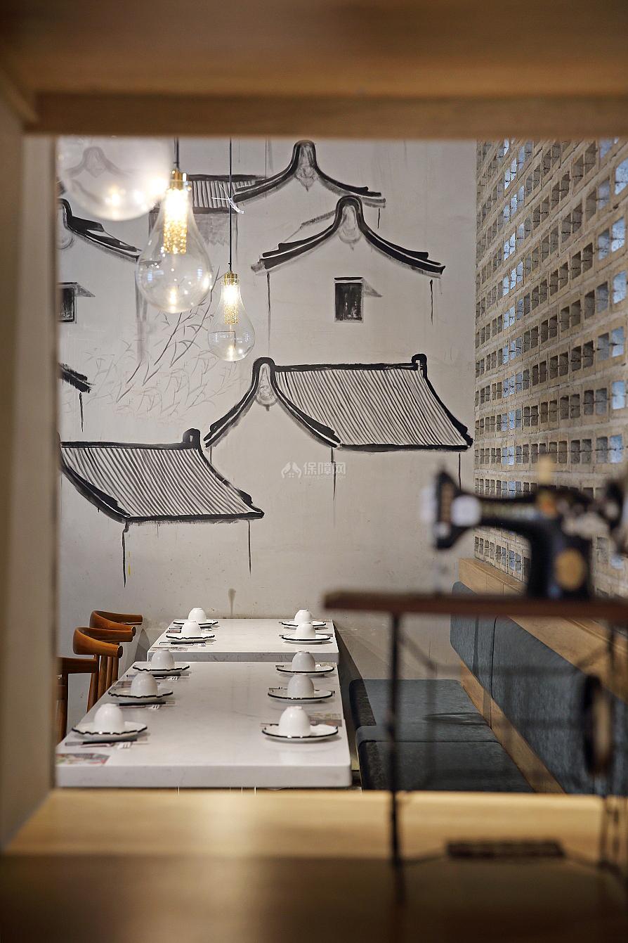 日日香鹅肉饭店墙面装饰画