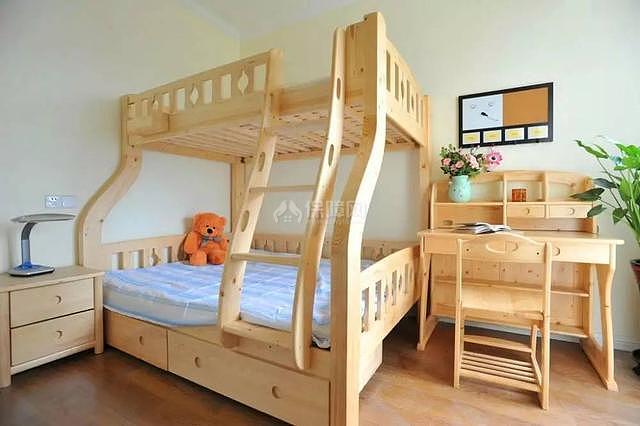 95平现代美式儿童房装修效果图