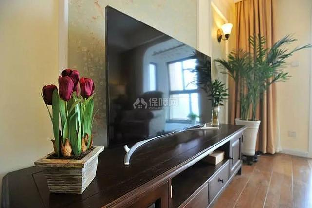 95平现代美式电视柜设计效果图