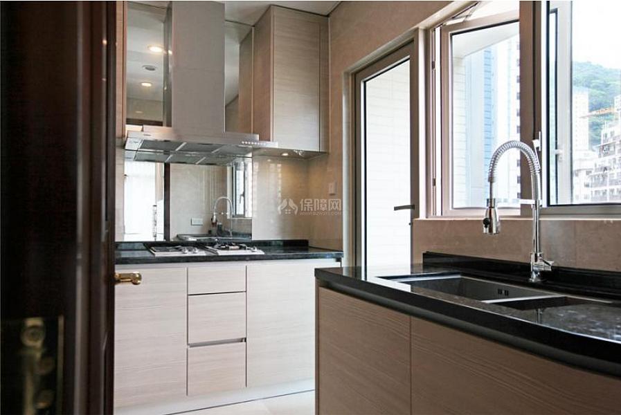 68平米中式轻奢厨房装修效果图