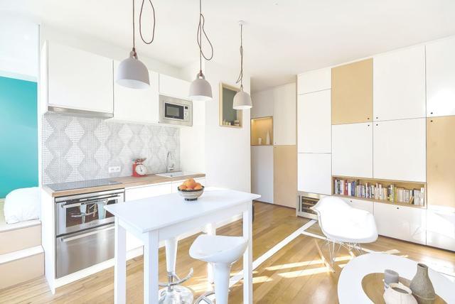 厨房怎么装修才好看?充满创意的25个小厨房设计
