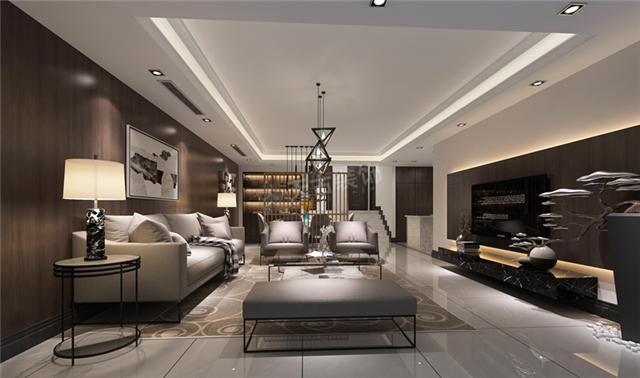 联排现代风格别墅室内照片