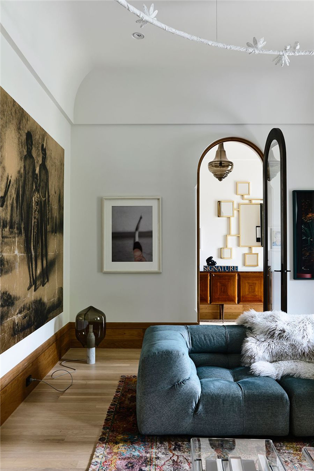 现代风格别墅室内照——极简与历史文化的碰撞
