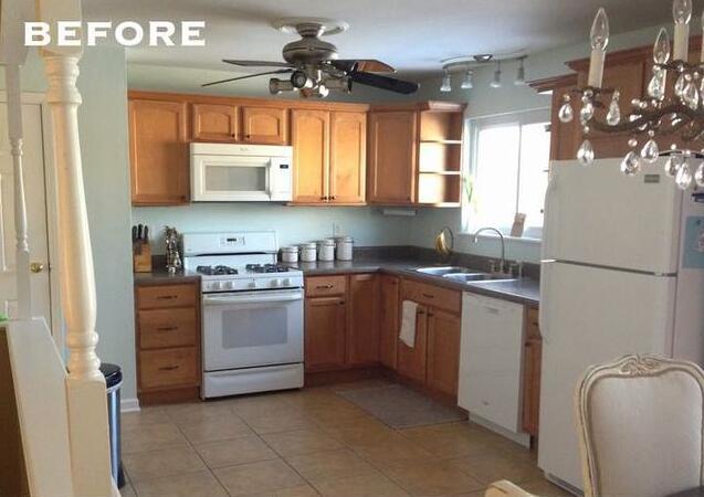 将传统厨房改造装修 颜色变化为空间注入新的活力