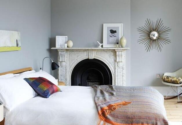 灰色系冷?巧妙利用灰色装修,卧室也能很温暖