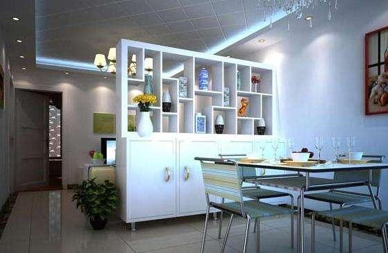 客厅和餐厅连在一起怎么装修?客厅与餐厅的隔断设计