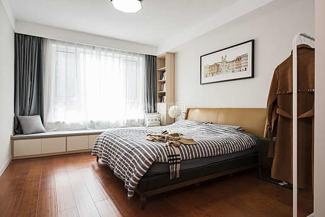 122平轻奢风卧室装修效果图