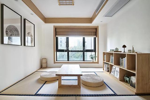 130㎡日韩风休闲区榻榻米设计效果图