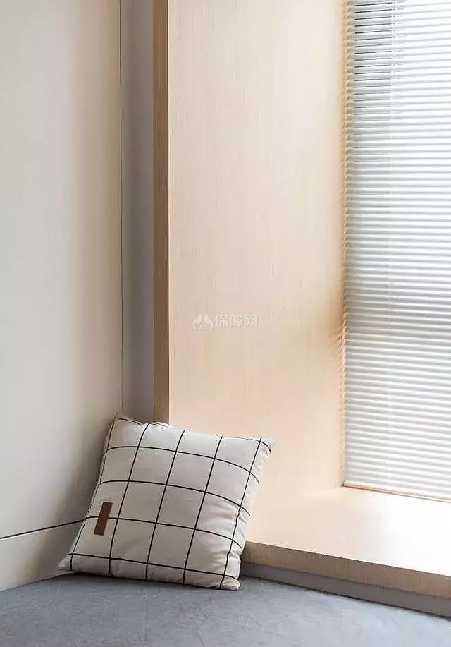 117㎡日式次卧飘窗设计效果图