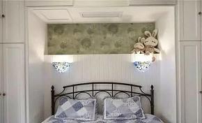 118平地中海风卧室衣柜设计效果图
