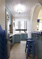 118平地中海风厨房装修效果图
