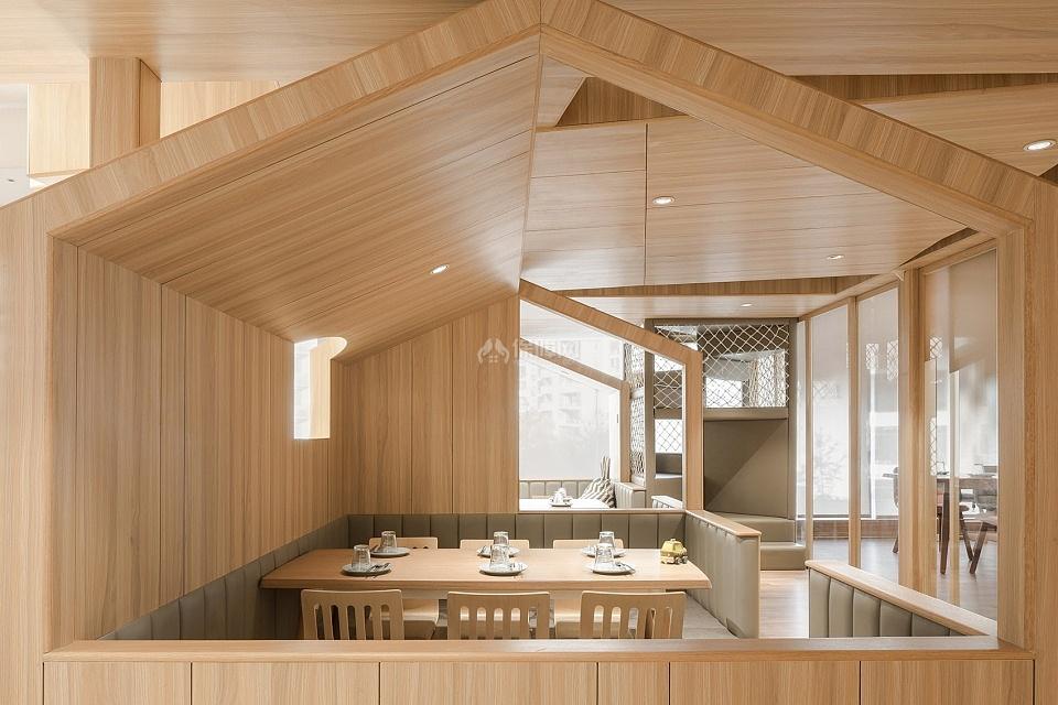 维塔兰德亲子餐厅用餐空间造型设计效果图