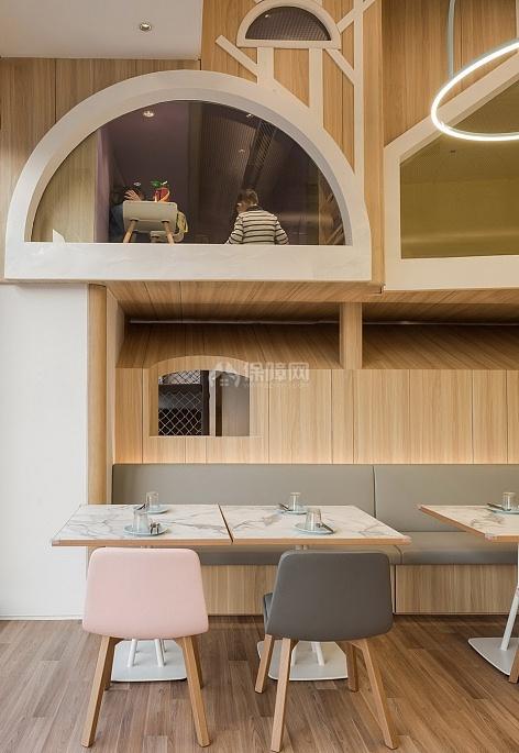 维塔兰德亲子餐厅上下楼层设计效果图